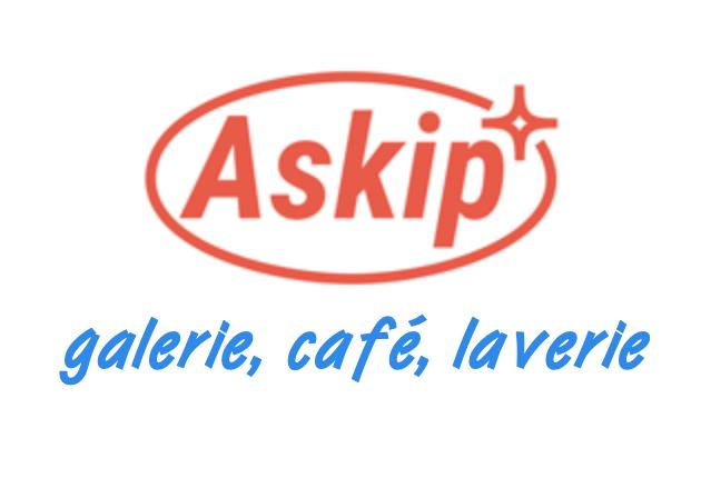 Askip Nantes, galerie d'art, café, laverie